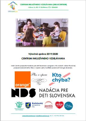 Vyrocna sprava 2019 2020 Centrum inkluzivneho vzdelavania