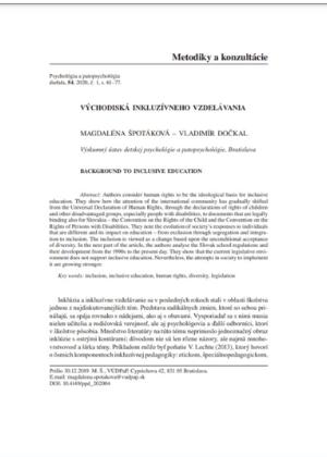 dokument vychodiska inkluzivneho vzdelavania nahlad1